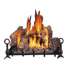 "GL30NE Napoleon Electronic Ignition Vented Natural Gas Log Set, 30"", Natural Gas"