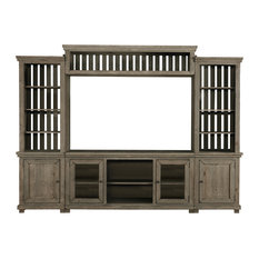 Willow Complete Wall Unit, Weathered Gray