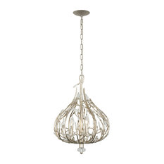Bask 3-Light Crystal Mini Pendant, Gold Dust Finish