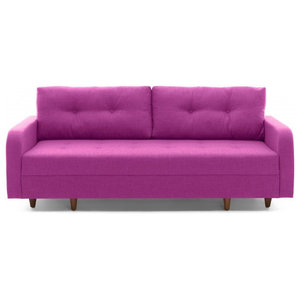 Empire Sleeper Sofa With Storage Magenta