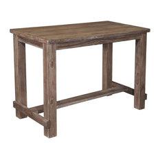Ashley Direct   D542 12 Pinnadel Dining Room Bar Table, Light Brown   Indoor