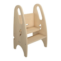Little Partners - 3-in-1 Growing Step Stool Natural - Kids Step  sc 1 st  Houzz & Kidsu0027 Step Stools | Houzz islam-shia.org