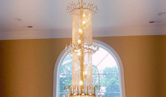 Toureg Collection Crystal Chandelier Fills Vertical Space