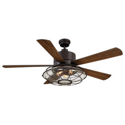 Beach Style Ceiling Fans by House Lighting Design