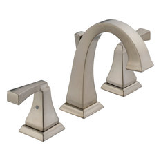 Merveilleux Delta Faucet   Delta Dryden 2 Handle Widespread Lavatory Faucet, Stainless  Steel   Bathroom