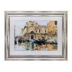 Rio dei Mendicanti, Venice by John S. Sargent