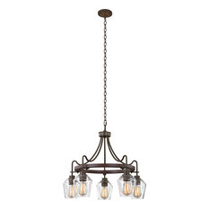 Allegheny Chandelier, Clear, Medium