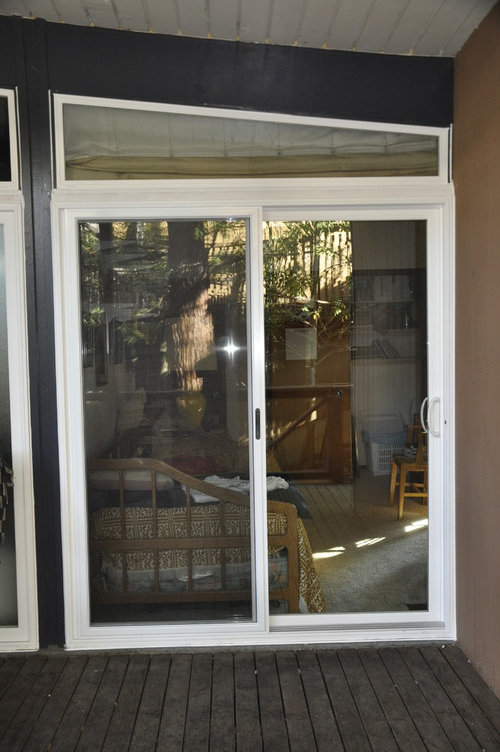 Before Amp After Simonton Sliding Patio Door Replacement