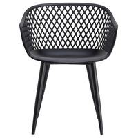 """Moes Home Collection QX-1001 Piazza Set of (2) 24""""W Contemporary - Black"""