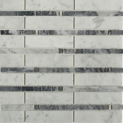 Contemporary Mosaic Tile by Ivy Hill Tile