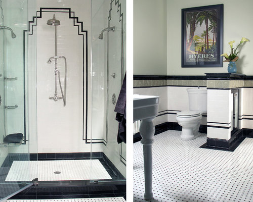 Art Deco Bathrooms | Houzz