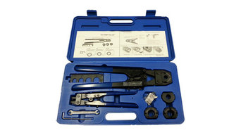 PEX Plumbing and Heating Crimp tools