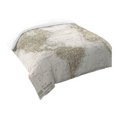 Laural Home Get Out and See the World Comforter, Queen