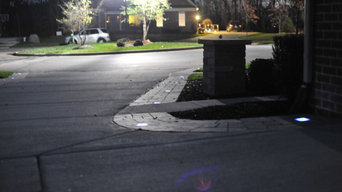 Custom solar LED Pathway lighting Accents - Michigan