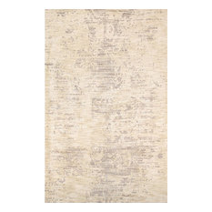 Modern Collection Hand-Tufted Microfiber Area Rug, 5'x8'