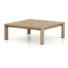 Marcel Outdoor Coffee Table, Sandy Brown
