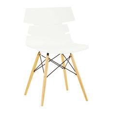 Brooklyn Scandinavian Chair, White