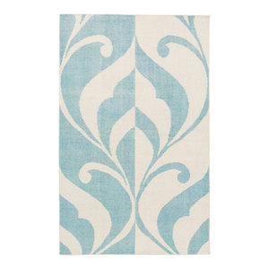 Lines 6 Area Rug 5 0 Quot X7 0 Quot Contemporary Novelty Rugs