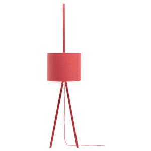 Luca Lean Uni Floor Lamp, Red