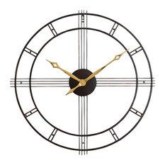 Aspire Home Accents, Inc. - Rumi Wall Clock - Wall Clocks
