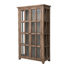 Four Hands Furniture   Irish Coast Large Display Cabinet   China Cabinets  And Hutches