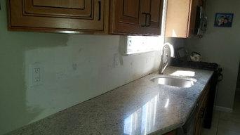 Private Client Mexican Inspired Kitchen Backsplash, custom handmade tile