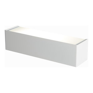 Gradino Wall Light, Opaque White, Medium