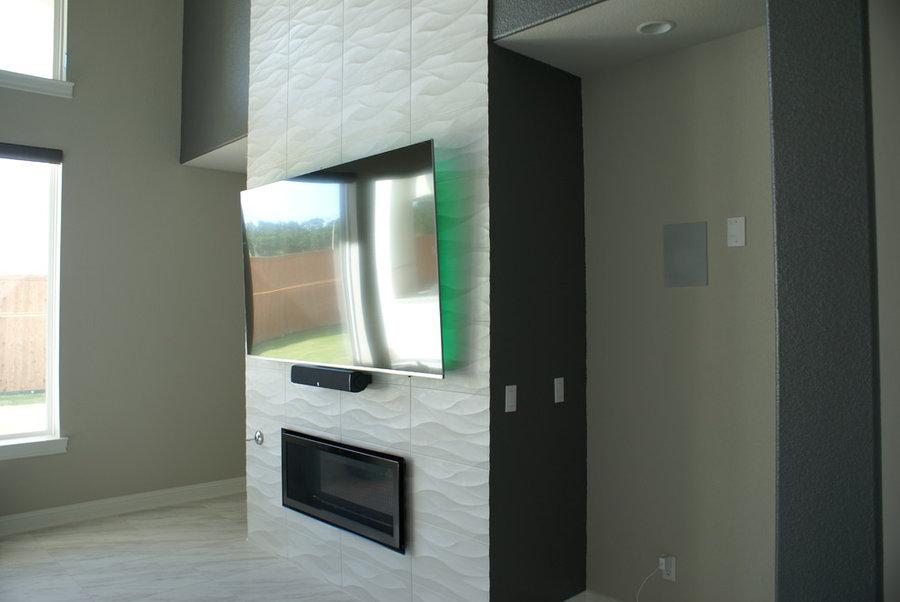 21' Fireplace