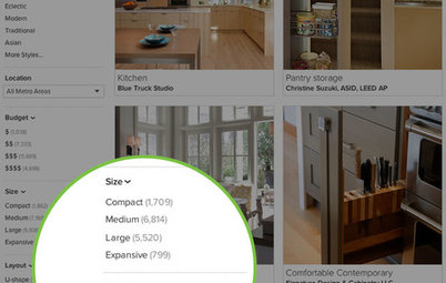 Inside Houzz: More Filters Make Photo Browsing Even Better