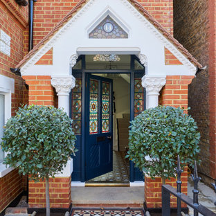 Large victorian entrance in London.