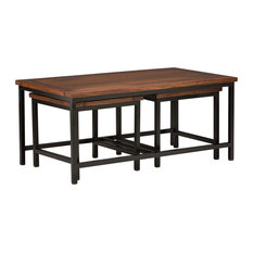 Skyler Nesting 3 Pc Coffee Table