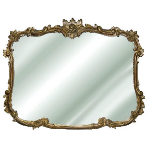 Hickory Manor 8144AG Buffet Antique Gold Decorative Mirror