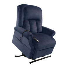 Mega Motion - Mega Motion Easy Comfort Superior- Heavy Duty Lift Chair, Ocean - Lift Chairs