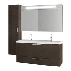 "47"" Wenge Bathroom Vanity Set"