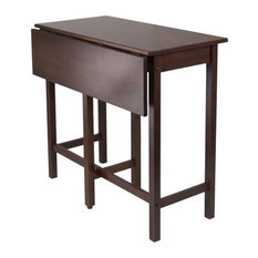 Winsome   Winsome Wood Transitional Antique Walnut Solid Wood Dining Table    Dining Tables