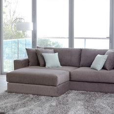 Eastern 4 Seater Fabric Sofa   Sofas