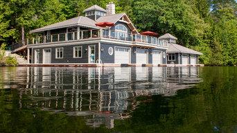 Luxury Boat Houses