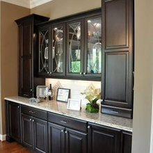 Dining Room Wall Cabinetry