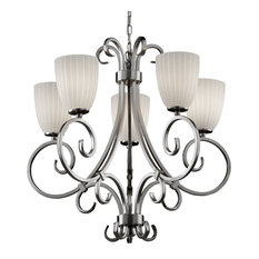 Justice Design Fsn-8570-18 Victoria 5-Uplight Chandelier-LED