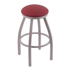 Holland Bar Stool, 802 Misha 25 Counter Stool, Anodized Nickel Finish