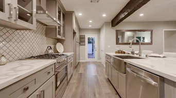 grey shaker kitchen cabinets