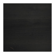 "The Portfolio, Wide Plank Hardwood Flooring Ebony, 5""x7"""