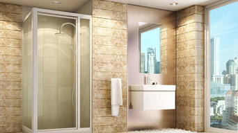 Aluminium Frame Shower Screens