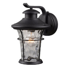 Hardware House Lantern, Textured Black