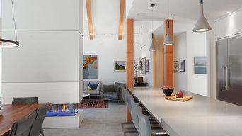 A Traditional Facade Reveals Striking Modern Interior