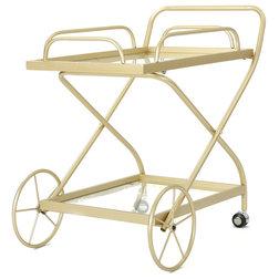 Contemporary Bar Carts by GDFStudio