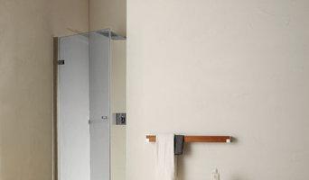 ac8 pivot door for recess