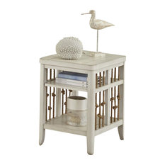 Emma Mason Signature Baldin Chair Side Table In White