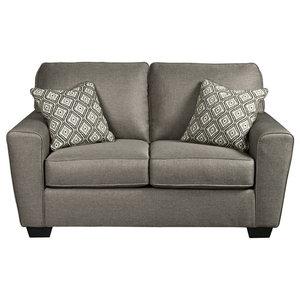 Super Ashley Wixon Loveseat Slate Transitional Loveseats By Machost Co Dining Chair Design Ideas Machostcouk