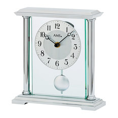 Ianthe Table Clock, Aluminium